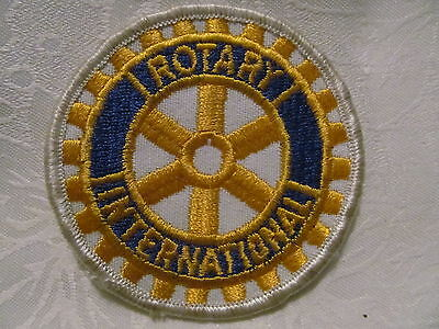 Rotary International Fraternal Collectable Patch Crest