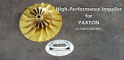 CW Billet Performance Impeller for Paxton ® by 928 Motorsports LLC