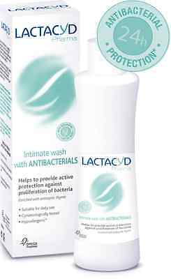 Lactacyd Pharma - Antibacterial Intimate Wash ANTI BACTERIA | INFECTIONS | ODORS