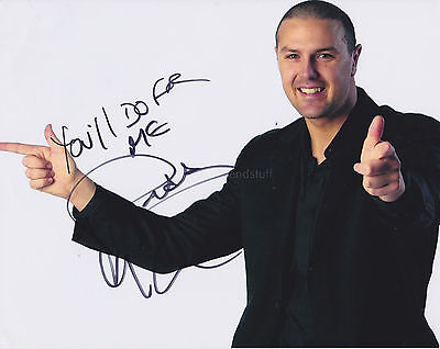 Paddy McGuiness Hand Signed 8x10 Photo, Autograph, Comedian, Take Me Out
