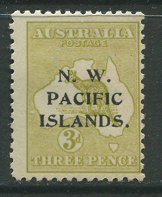 N. W. Pacific Islands 1915 3d Die 2 mint o.g. hinged