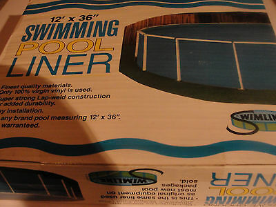 "Swimline  12'x36""  Above Ground Liner New!!!"
