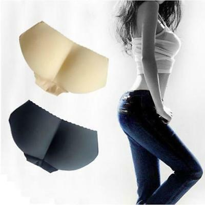 NEW Womens Booty Padded Seamless Butt Hip Enhancer Bottom Underwear Panties - LD