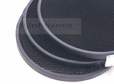 "Honeycomb Grid set 21cm 30° 20° 12° for 8 1/4"" all metal for Elinchrom Reflector"