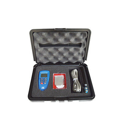 DT156 Paint Coating Thickness Meter Gauge Tester Auto F/NF Probes 1250um New