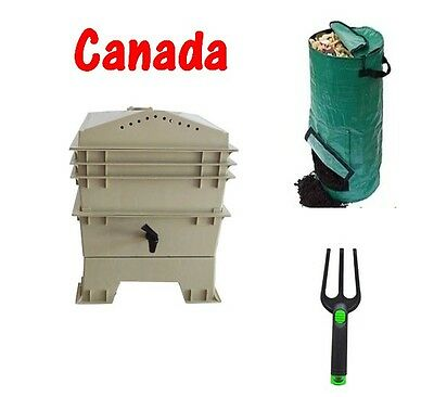 Worm Factory Farm Composter Complete Kit Pickup only No shipping