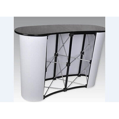 Business Trade Show Exhibit Counter Frame Portable Table Display Office Shop