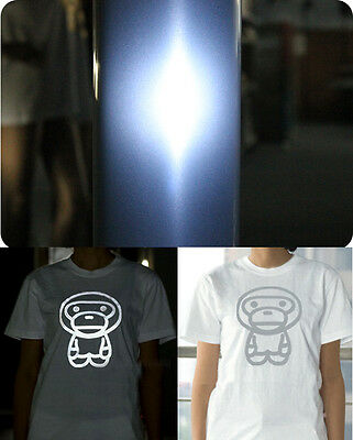 2yards Reflective Light Heating Press Transfer Vinyl Cutting Plotter T-shirts