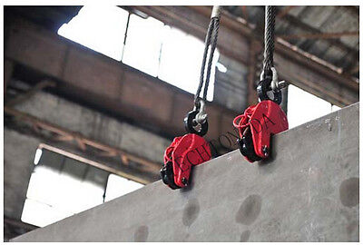 1 pc Vertical Plate Lifting Clamp With Lock Hoist Hook Chain Lifter