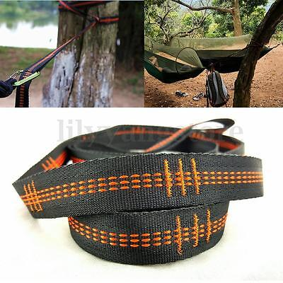 Adjustable Hanging Hammock Tree Strap Heavy Duty Extension Suspension System