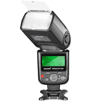 Neewer 750II TTL Flash Speedlite with LCD Display for Nikon  D500 D90 D80 D70