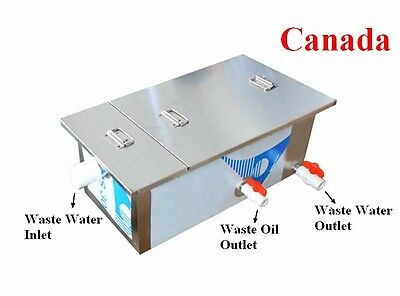 0.5T Commercial Grease Trap Kitchen Waste Filter Stainless Steel Restaurant