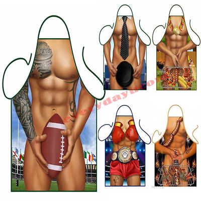 Hot Mens Sexy Funny For Chefs BBQ Aprons Butchers Cooking Kitchen Apron Barking