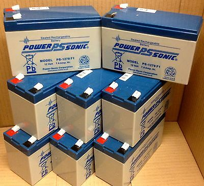 APC RBC105 Batteries X 8 POWERSONIC