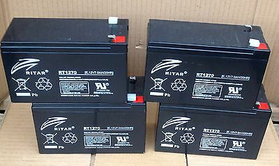 APC RBC24 Batteries x 4 by Ritar