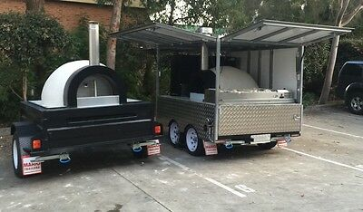 Wood fired pizza oven trailer business woodfired - Top quality custom made