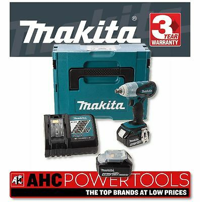 Makita DTW251RMJ Impact Wrench 18V Cordless Li-ion (2 x 4Ah Batteries)