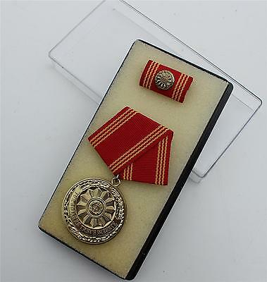Ddr Nva East German Police Service Medal 30 Year Service