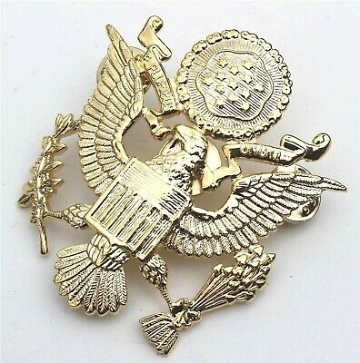Us Army Officers Style Cap Badge