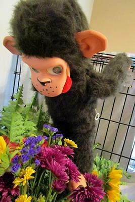 Super Rare TALKING CHIMP Mattel for British Market Vtg 60s IOB Chatty Toy TALKs!