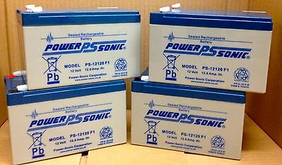 Eaton 5125-2200i 2200VA 1600w UPS replacement batteries X 4 Powersonic
