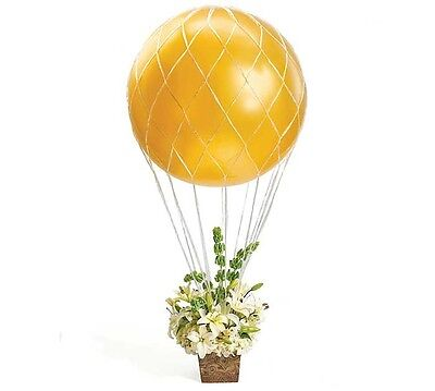 Hot Air Balloon Arrangement Net 3' Large Party Bouquet Centerpiece