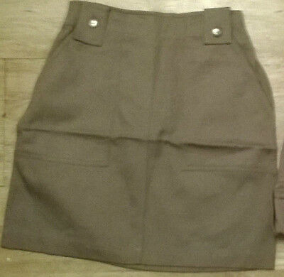 Girls trendy skirt ,NEW Age 7,8,9,10,11,12,13 yr old, light brown (fawn/mink)