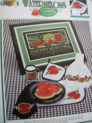 Paricia Hall's Watermelons Cross Stitch Booklet