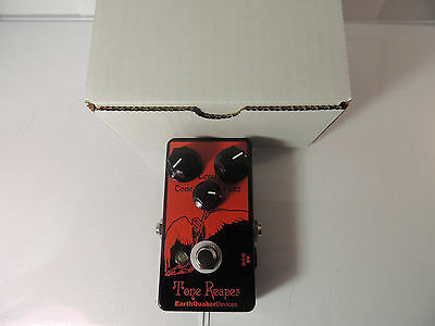 EARTHQUAKER DEVICES TONE REAPER FUZZ  EFFECTS PEDAL wBOX & MANUAL FREE USA SHIP