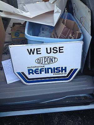"17 1/2"" Dupont Automotive Finish Products Paint Sign"