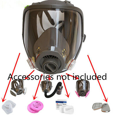 1 pcs For 3M 6800 Full Face Facepiece Respirator Gas Dust Mask Paint Spraying