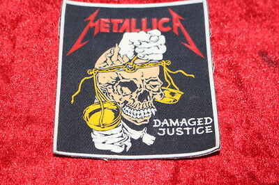 Metallica - Damaged Justice Patch From The 80's
