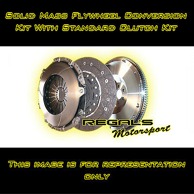 for BMW 3 Series E36 325i All M50B25 Engines Solid Mass Flywheel Kit & Standard
