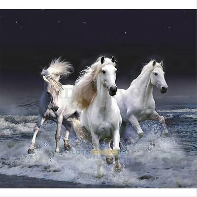 5D DIY Diamond Painting Horse Embroidery Cross Stitch Kit Wall Home Decor Craft