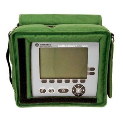 Greenlee TV220 CableScout - TDR Cable Tester for CATV