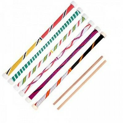 Stunt Devil Stick & Hand Sticks - Beginner Bounce Devil Stix- Choice of Colour