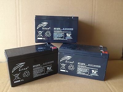 Mustek Powermust 1000 Online Battery Replacement X 3 Units Ritar