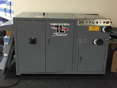 1 Gently Used Tec Lighting XtraCoat UV Coater Coating Machine XCI18-1-3D USA