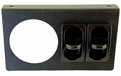Air Ride Suspension Air Gauge Display Panel 2 Paddle Switches No Gauges