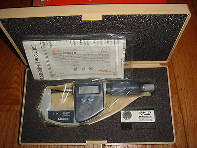 Mitutoyo 293-811  Outside    Micrometers   Digimatic...0-1...new