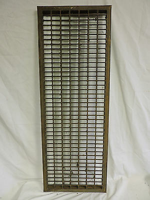 Huge Vintage 1920S Iron Heating Grate Rectangular Design 44 X 16 A