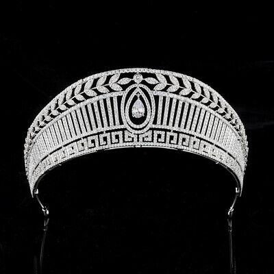 Lovely Rectangular Crystal Adult Wedding Bridal Party Pageant Prom Tiara Crown