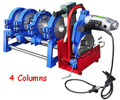 """110V 10 Szies Clamps 2.48""""-7.87""""(63-200mm)  Pipe Butt Fusion Welder Machine"""