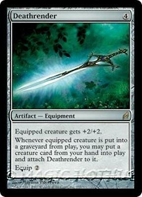 DEATHRENDER Lorwyn MTG Artifact — Equipment RARE
