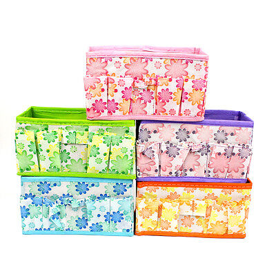 Animal Pattern Fabric Collapsible Storage Containers Collapsible Cube Basket