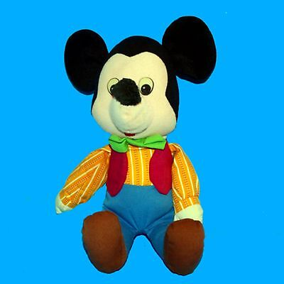 """Mickey Mouse Cowboy 14"""" Plush Applause/ Knickerbocker #8402 Disney Collectible"""