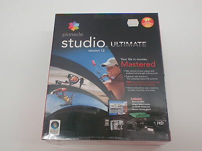 Pinnacle Video Editing Software Studio Ultimate 12