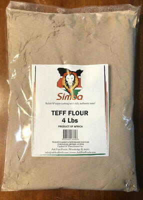 Teff Flour - 4 lbs - USA Seller Free and Fast Shipping!