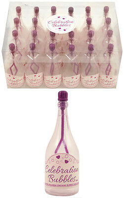Wedding Birthday Champagne Celebrations Bubbles - Pack Of 24 - 5 Colours