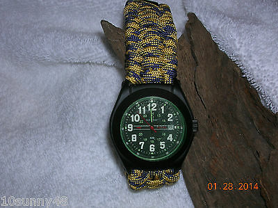 Smith & Wesson Military Tactical Watch, on a Paracord Bracelet, NEW